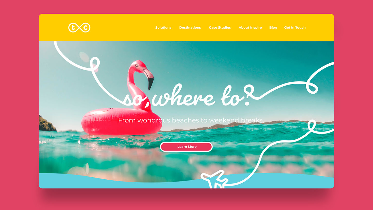 Inspire Travel Card Homepage