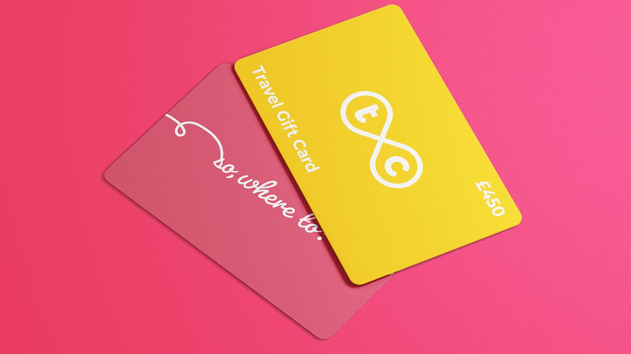 Inspire Travel Card Mock