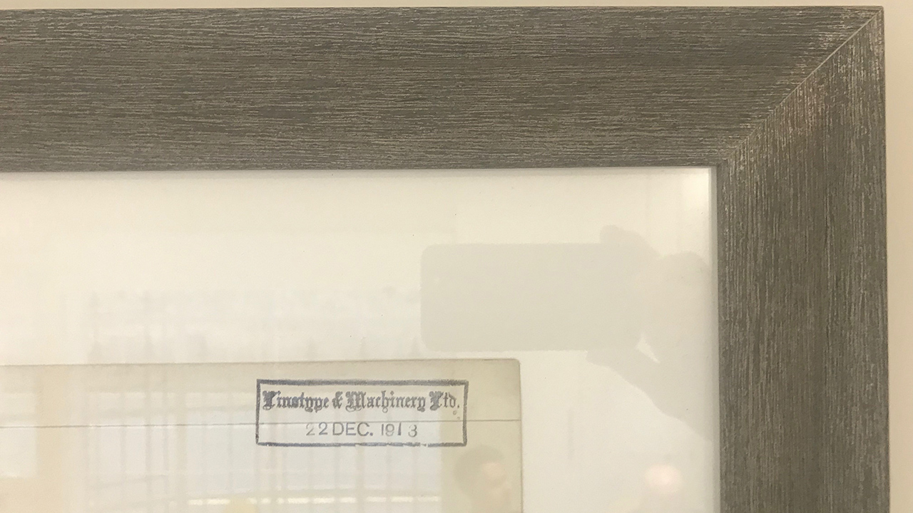 Picture Frame Timestamp