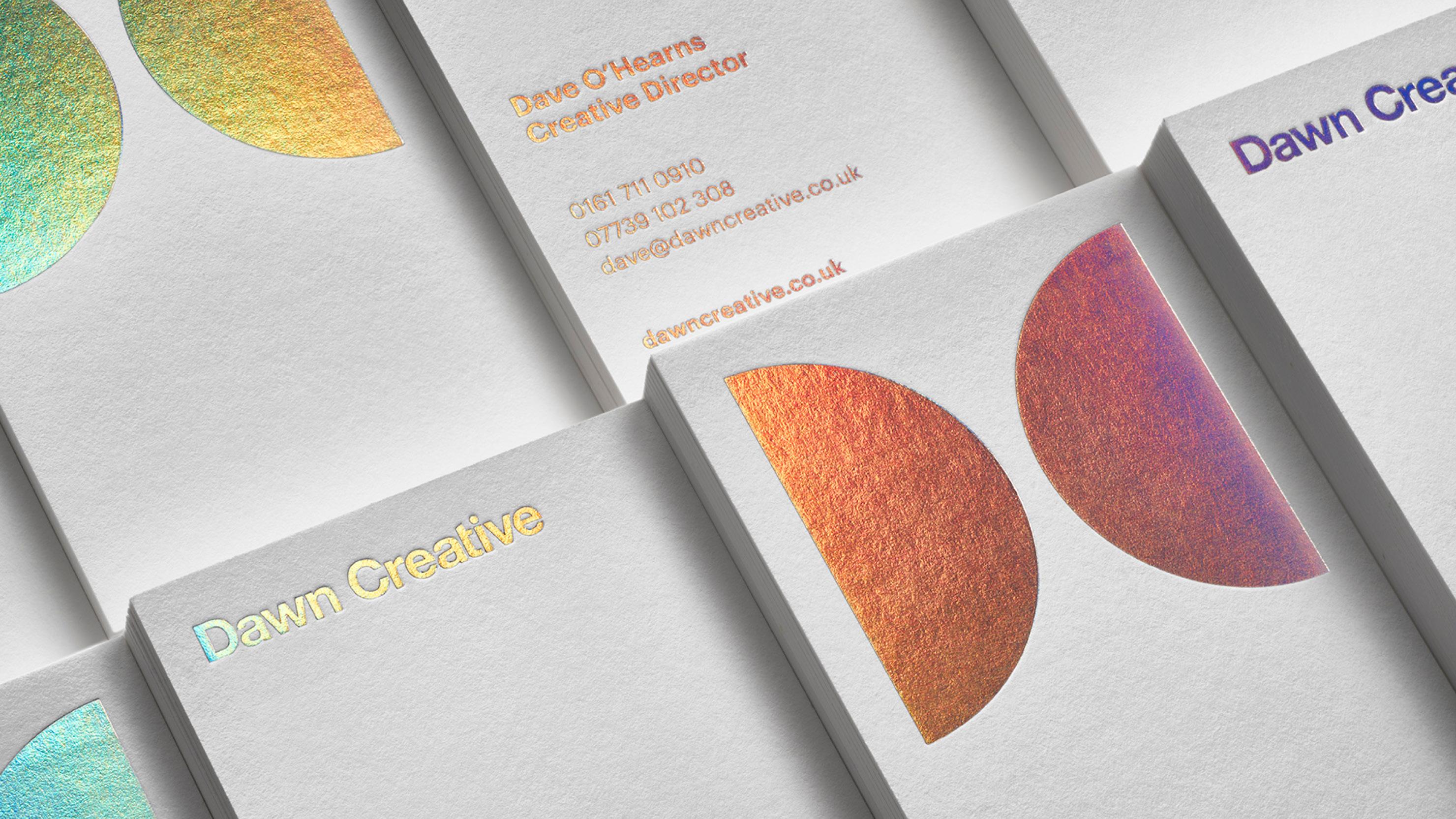 Dawn Creative Business Cards