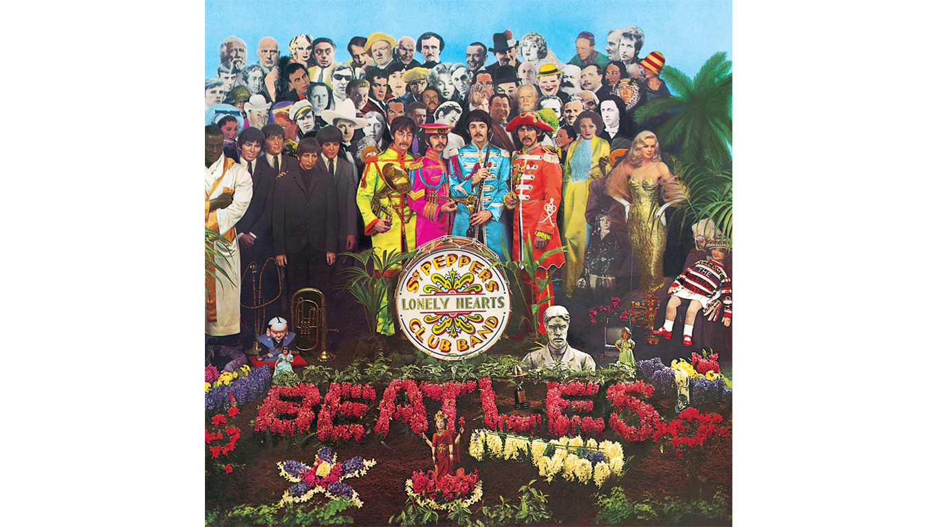 Sergeant Peppers Album Cover