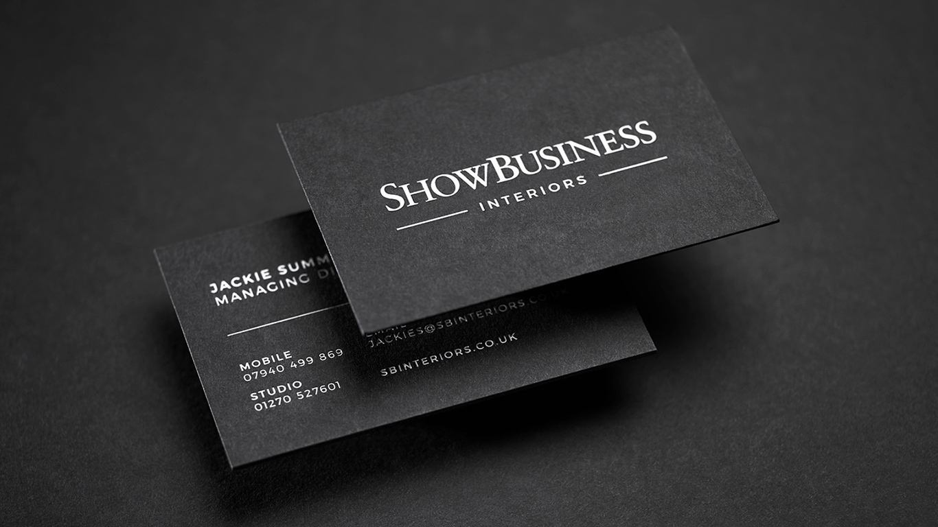 Show Business Cards