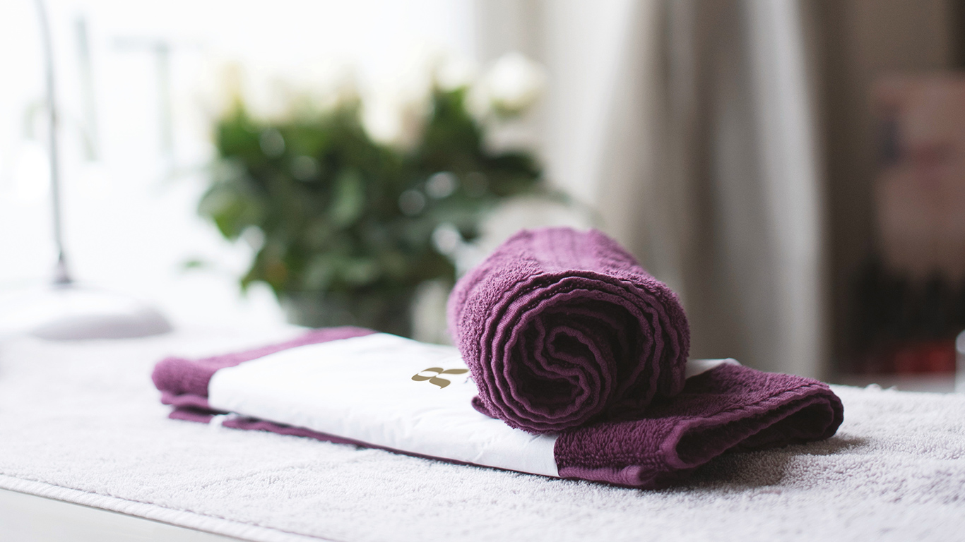 The Retreat Rooms Towel