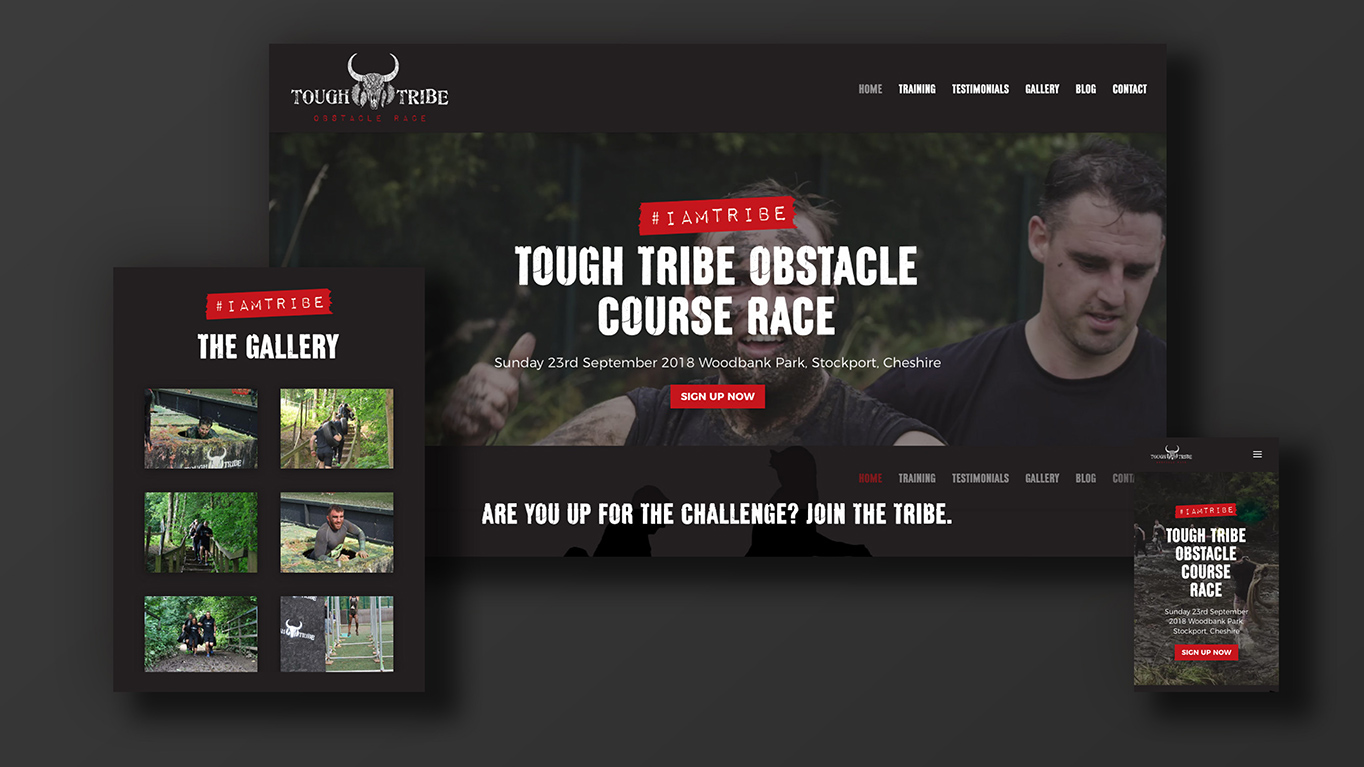 Tough Tribe website