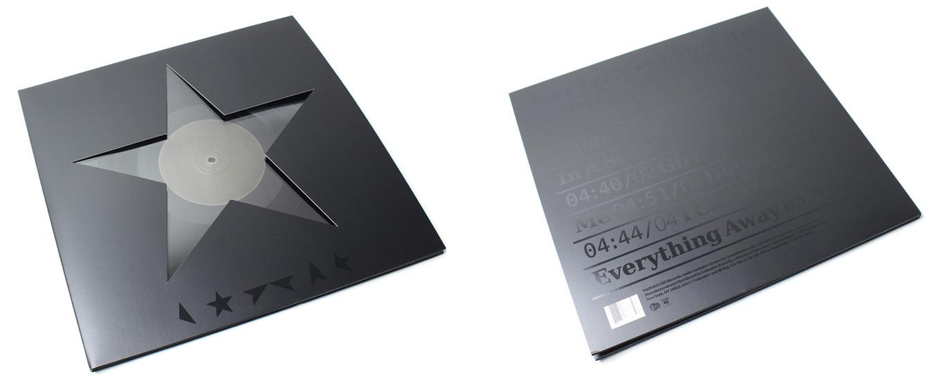 Black star vinyl